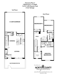 Floor Plan La by Voscana New Homes In Carlsbad Ca By Shea Homes Floor Plans