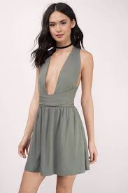 graduation dresses grey skater dress plunging dress skater dress 62 tobi us