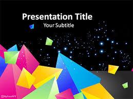 free origami powerpoint templates myfreeppt com