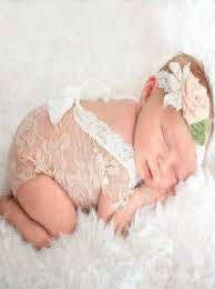 newborn photography props baby lace v back romper bodysuit newborn photography prop cc106