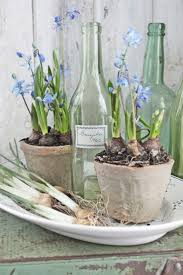 contemporary spring table centerpiece ornament decoration using
