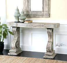 matching floor and table ls shabby chic console table shabby chic console table uttermost