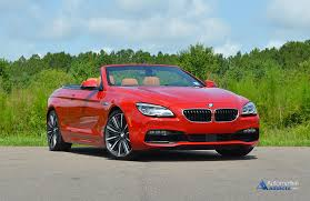 bmw 6 series convertible review 2016 bmw 650i convertible review test drive