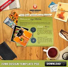 annual report template brochure with abstract design free psd in