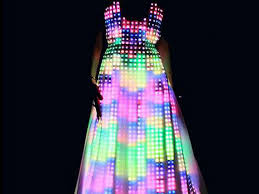 cool light up things mesmerizing led dress incredible things