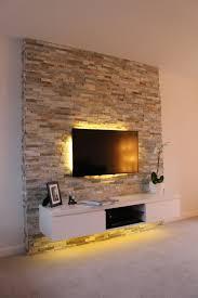 Wohnzimmer M El Schwebend Die Besten 25 Tv Wand Riemchen Ideen Auf Pinterest Tv Wand Aus