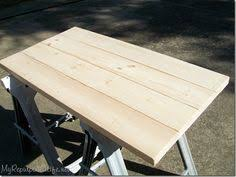 Diy Wood Plank Table Top by The Best Way To Seal A Wood Tabletop Dads Barn And Board