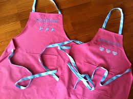 tablier cuisine fille tabliers mère fille isa pique