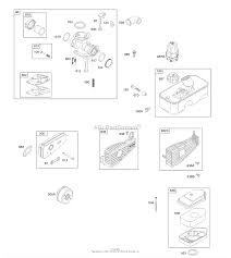 briggs and stratton 09t602 5019 b1 parts diagram for air cleaner