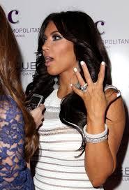 kim kardashian u0027s engagement ring 16 5 carat white emerald cut