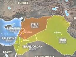 middle east map changes middle east colonization