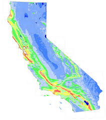 California Maps California Geological Survey Probablistic Seismic Hazards