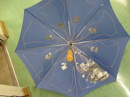 pressure activated light up umbrella 8 steps with pictures