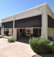 Exterior Shades For Patio Roll Down Shades Solar Screens And Blinds Houston