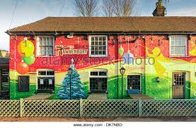 Large Christmas Decorations For Pubs by Pub Christmas Decorations Stock Photos U0026 Pub Christmas Decorations
