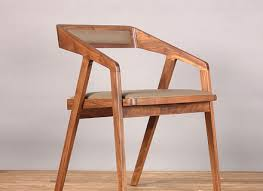 rustic chair in wood straw seat for kitchen idfdesign hastac 2011