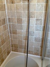 removing mould from travertine bathroom tiles stone cleaning and