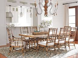 tommy bahama home dining room caneel bay dining table 558 876c