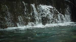 Interior Waterfall Indoor Waterfall In Slow Motion Stock Footage Video 12882182
