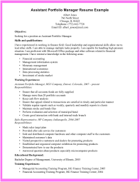 Resume Examples Pdf Free Download by Portfolio Manager Resume Resume For Your Job Application