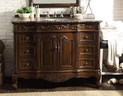 Adelina  Inch Classic Old Look Bathroom Vanity Sierra Brown - Bathroom vanity counter top 2