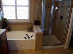 Small Bathroom Ideas With Stand Up Shower - combo tub shower above toilet storage design baths pinterest