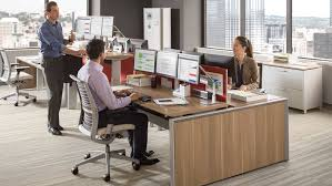 Bench 8 Series Height Adjustable Office Benches U0026 Tables Steelcase