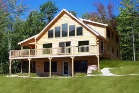oak ridge home plan by coventry log homes inc