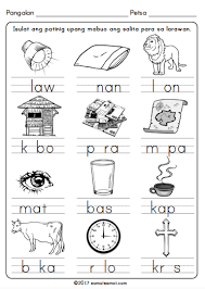 filipino worksheets for grade 1 samut samot