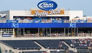 bud light party box rivals sports bar and bud light party deck kauffman stadium nice