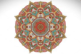 mandala ornament in ethnic style by visnezh on creative market