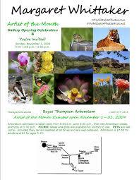 margaret whittaker exhibit at boyce thompson arboretum