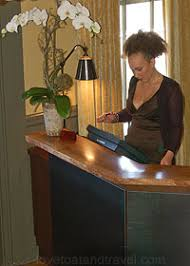 Restaurant Reception Desk Murray Circle A Michelin Rated Restaurant Is Located At Cavallo
