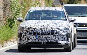 first audi audi u0027s first all electric crossover spied testing on public roads