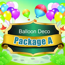 balloon decoration package a