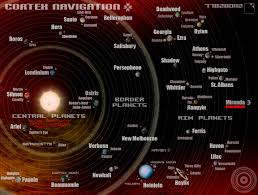Solar System Map Map Of Solar System Star Page 3 Pics About Space