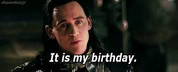 Thor Birthday Meme - my gif my edit happy birthday tom hiddleston loki bday odin thor 2