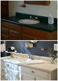 Bathroom Cheap Makeover Navy Bathroom Budget Breakdown And Shopping Sources