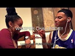 Challenge Bfvsgf Whisper Challenge Bfvsgf Edition Loser Gets