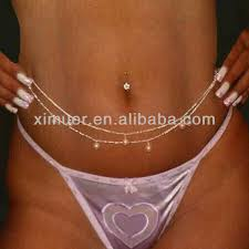 chain belly rings images Fashion sexy body chain belly ring body chain buy belly ring jpg