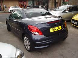 peugeot cars 2012 used 2012 peugeot 207 cc hdi cc allure for sale in blackheath