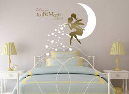 fairy wall decal fairy blowing hearts fairy blowing kisses zoom