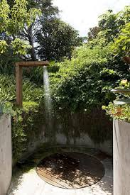 wonderful outdoor shower and bathroom design ideas rectangular