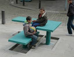 Street Furniture Benches Pop Up Street Furniture