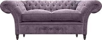 Chesterfield Sofa For Sale 2 Seater Velvet Chesterfield Sofa Sale Ebay Uk Unopened