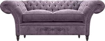 chesterfield sofa for sale 2 seater velvet chesterfield sofa sale ebay uk unopened and