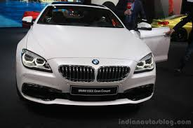 vauxhall india 2015 bmw 6 series facelift india launch on may 29