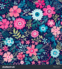 cute pics for background cute pattern small flower small colorful stock vector 433120060
