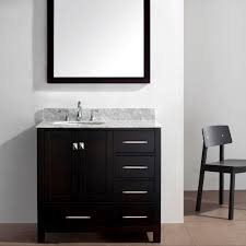 Virtu USA Caroline Avenue  Single Bathroom Vanity Set In - Virtu usa caroline 36 inch single sink bathroom vanity set
