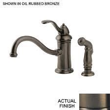 shop pfister marielle oil rubbed bronze 1 handle low arc kitchen